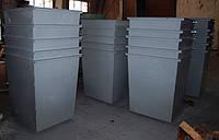 Контейнеры и урны для сбора мусора с крышкой, без крышки, на колесах и без, различного объёма