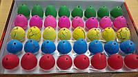 """Растишка """"Яйца"""" средние, цветные."""