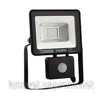 Прожектор светодиодный с датчиком Horoz 10W PUMA/S-10