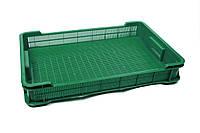 Ящик пластиковый 600х400х95, 8кг (2 сорт), (цветной), фото 1