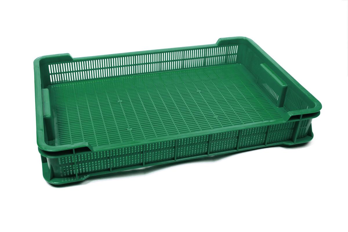 Ящик пластиковый 600х400х95, 8кг (2 сорт), (цветной)