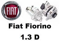 Fiat Fiorino 1.3 D (Diesel). Стартер, генератор  и их запчасти на Фиат Фиорино.