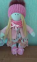 Интерьерная кукла ручной работы 28 см