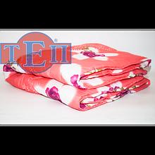 Теплое шерстяное одеяло ТЕП  «Колорит», чехол - полиэстер