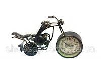 """Настольные часы """"Ретро Мотоцикл"""" в стиле Прованс"""