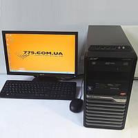 "Игровой комплект: 2 ядра, 4GB DDR3, GTX 650 1GB DDR5 + Монитор 19"" (1440х900) + Клава  и мышь, фото 1"