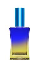 Цветной Флакон для парфюмерии Шабо 35 мл спрей голубой
