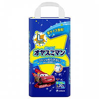 Трусики ночные Moony для мальчиков L (9-14 кг) 30 шт