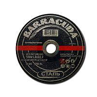 Круги абразивные отрезные BARRACUDA 180х2х22,2мм