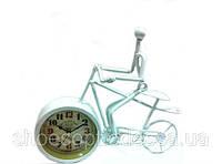 """Настольные часы """"Велосипед"""" в стиле Прованс"""