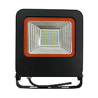 LED прожектор с радиатором 50W Eurolamp LED-FL-50(black)new