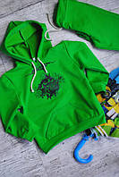 Зеленый спортивный костюм для мальчика на 104-109 см.