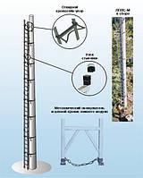 Лестница приставная вертикальная cтеклопластиковая модульная ЛПВС-М-24