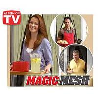 Сетка антимоскитная Magic Mash 190*100 штора черная