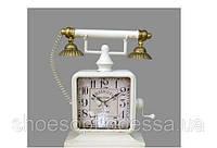 """Винтажные настольные часы """"Телефон"""" в стиле Прованс"""