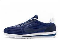 Кроссовки мужские Nike Cortez Ultra BR Blue (найк кортез) синие