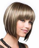Красивый парик, каре с мелированием Канекалон 232