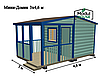 Модульные дома для проживания,модульные дома для круглогодичного проживания, модульные дома под ключ, фото 2