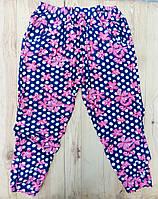 Cултанки БАТАЛ 50-64 размер женские цветные Ласточка с карманами и манжетами (разные рисунки) ЛЖЛ-11