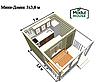 Модульный дом для постоянного проживания, модульные дачные дома, модульный дом для проживания под ключ, фото 5