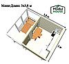 Модульный дом для постоянного проживания, модульные дачные дома, модульный дом для проживания под ключ, фото 7