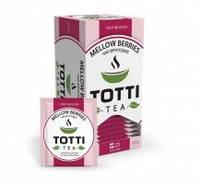 """Чай фруктовый TOTTI """"Спелые Ягоды"""", пакетированый 25 х 2 гр."""