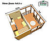 Модульные дома из контейнеров, производство модульных домов, модульные дома для дачи, фото 9