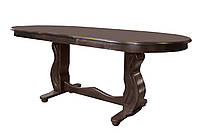 Стол деревянный обеденный КВИН+ для ресторана, кафе и гостиной дома