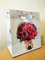 """Пакет для свадебного каравая, торта и свадебных шишек """"Букет"""""""
