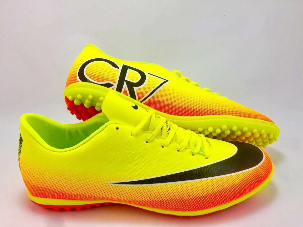 1255eb30 Футбольные сороконожки Nike Mercurial Victory CR7 TF Volt/Black/Citrus,  цена 855 грн./пара, купить Могилев-Подольский — Prom.ua (ID#520242090)