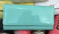Женская сумка клатч Bars 1069 лаковый мятный , фото 1