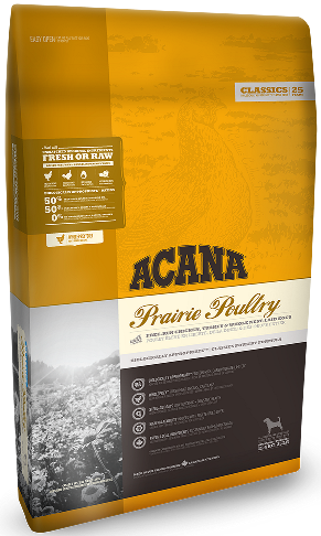 Acana Prairie Poultry 2кг  корм для собак с цыплёнком и индейкой