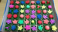 """Растишка """"Цветок"""" разноцветные, разнообразные."""