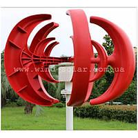 Ветрогенератор 250w max 2,0м/с старт, ветряк дачу дом пасеку рекламный кемпинг стоянку сторожку Вертикальный