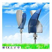Ветрогенератор 350w max 1,3м/с старт, ветряк дачу дом пасеку рекламный кемпинг стоянку сторожку Вертикальный