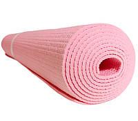 Коврик для йоги «HOP-SPORT-03 PVC» Pink 1730x610x3мм