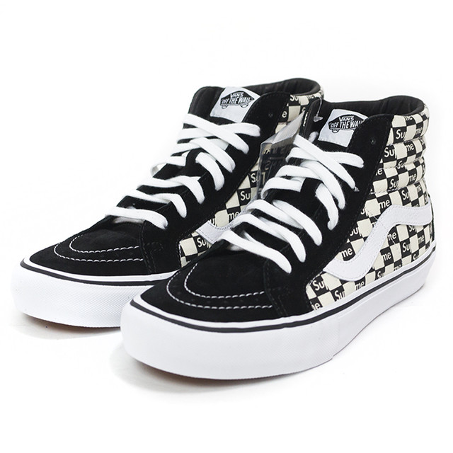 4330758bacaa3e2  Кеды Vans SK8 Old Skool Black White x Supreme  116680e8c662e