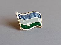 Значок флаг Узбекистана