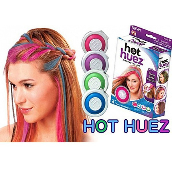 Разноцветные мелки для волос Hot Huez