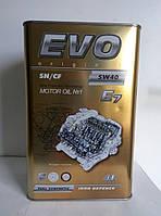 Масло моторное Evo 5W-40 E7 4L