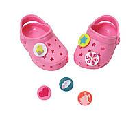 Сандалии кроксы для куклы Baby Born  Zapf Creation 822067