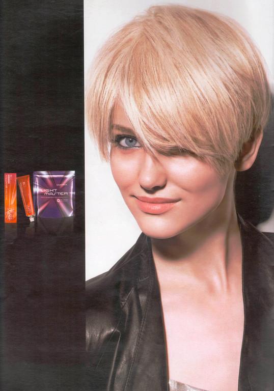 Платиновый блонд - окрашивание с тонированием