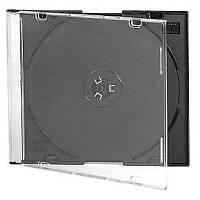 Бокс для диска CD/DVD Slim box black