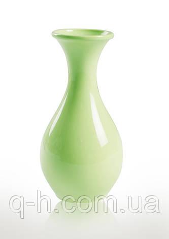 Керамическая ваза для цветов зеленая, CANDY, фото 2