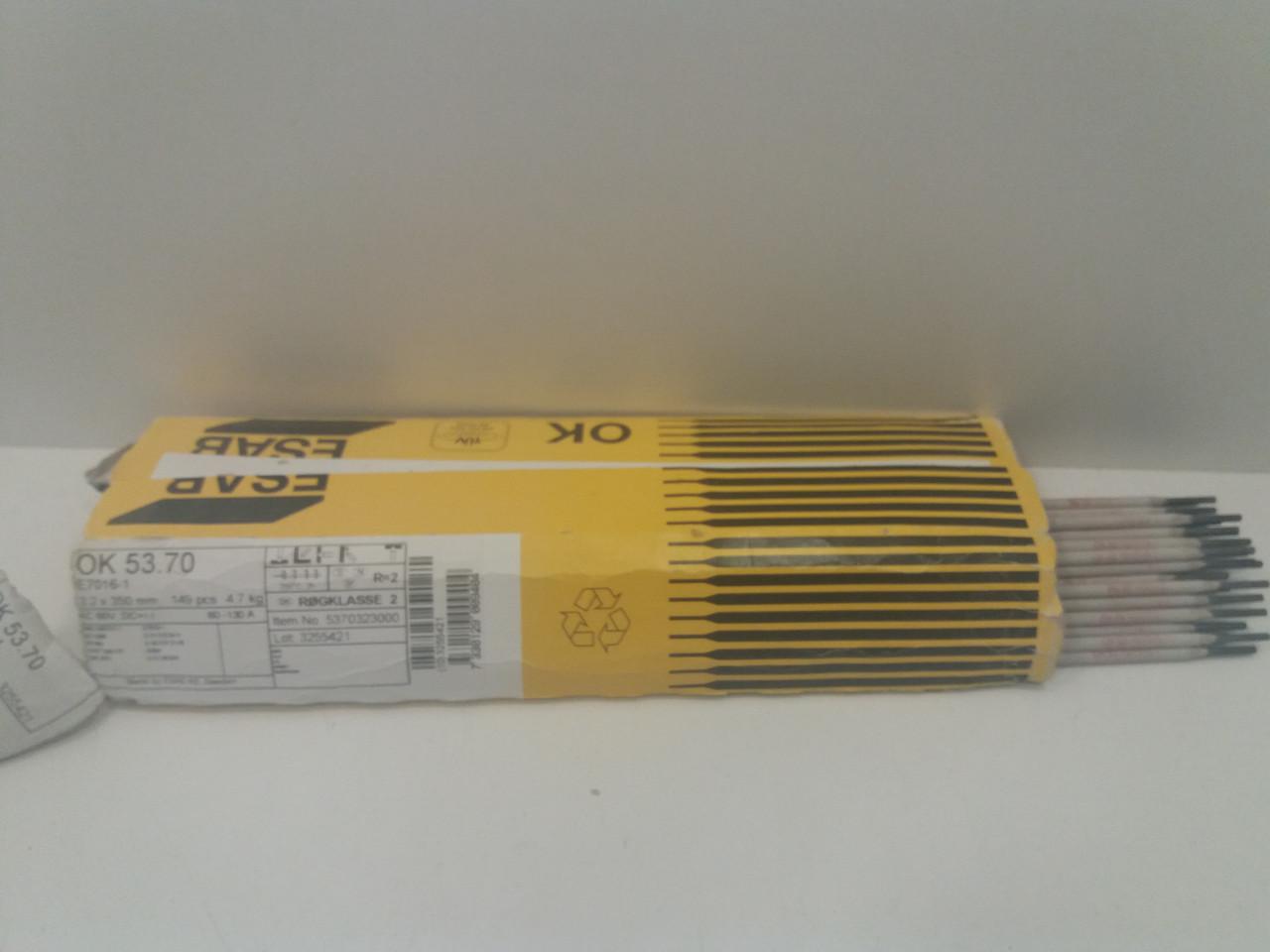 ESAB OK 53.70 3.2x350mm (Швеция) аналог ЦУ-5