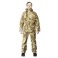 Куртка анорак камуфляжная охотничья FH осенний лес