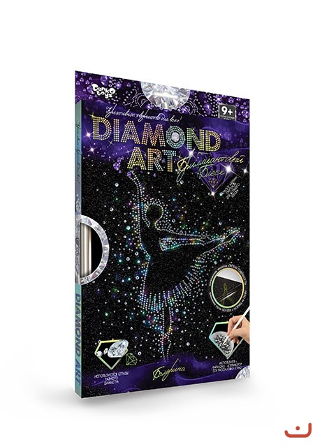 Набір алмазної мозаїки Diamond Art DAR-01 Данко-тойс
