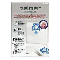Набор мешков для пылесоса Zelmer 49.4000 12003415 (ZVCA100B)