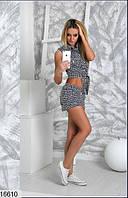 Женский костюм в клетку 16610 КТ-1453