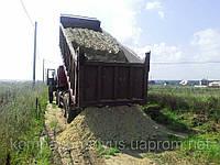 Отсыпка территории Отсыпка участков Выемка и отсыпка грунта в Киеве